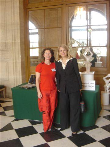 Madame la Senateur et Alexandrine Van Duijn