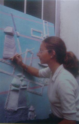 Année 1983 prix a New York pour des Hauts reliefs .
