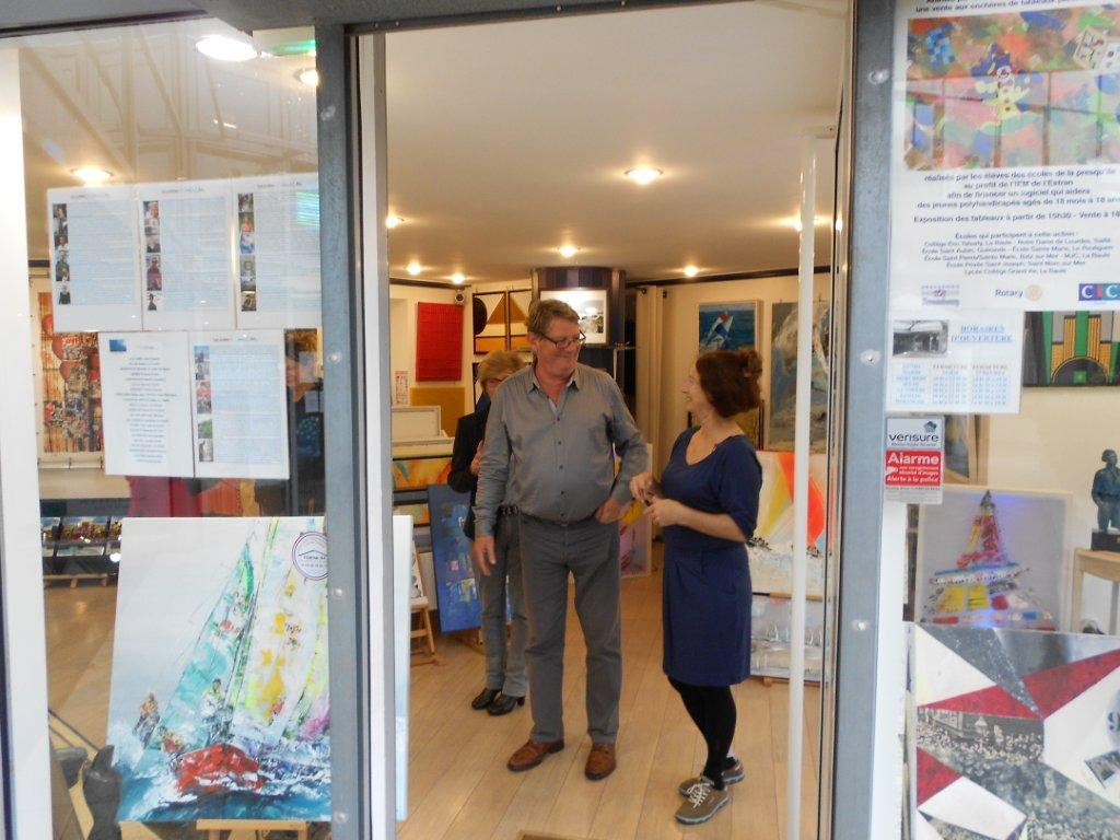 Galerie d'art de la Vague à l'Art/La Baule